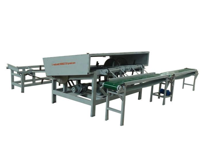 Wood Log Cutting Saw Machine