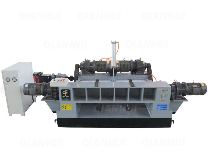 Heavy Duty Spindleless Veneer Peeling Lathe Speed 30-80m/min