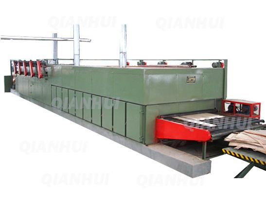 BG3560 Roller Veneer Dryer Machine Plywood Core Veneer Drying Machine
