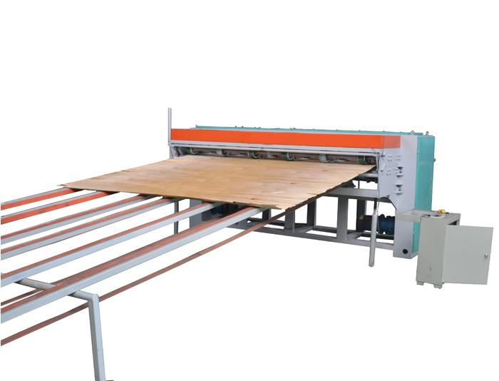 8ft Heavy Duty Rotary Veneer Clipper Machine for Face Veneer and Core Veneer