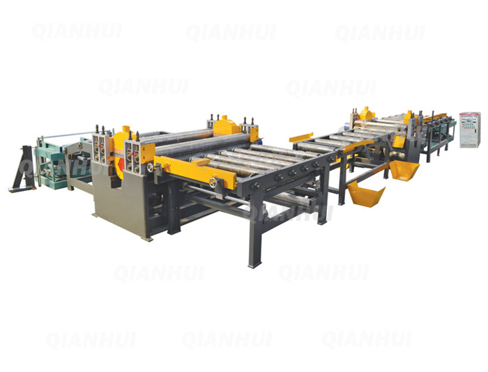 4x8ft Automatic Plywood D D Saw Plywood Edge Trimming Saw