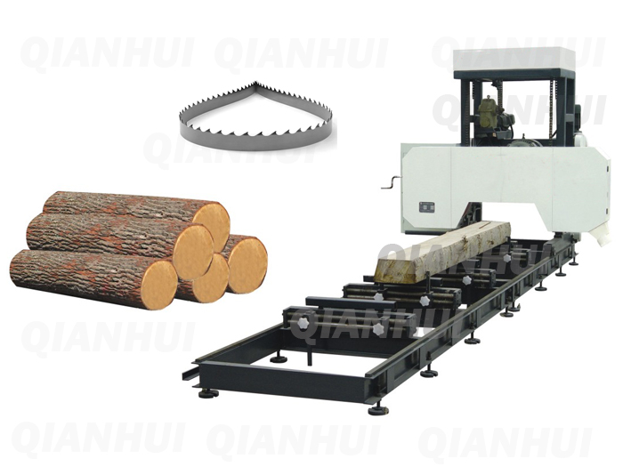 Horizontal Band Saw Machine for Timber φ600mm