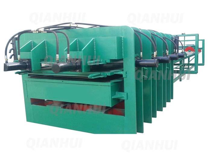 Four Sides Hot Press Machine Blockboard Joint Making Machine