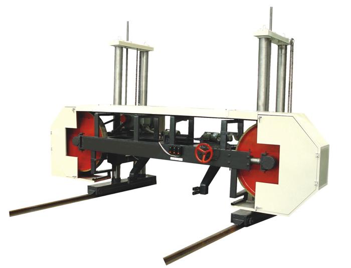 Horizontal Band Saw Machine for Log Diameter φ900-2000mm
