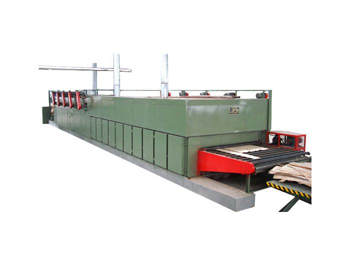 30m Roller Veneer Dryer Plywood Veneer Drying Machine