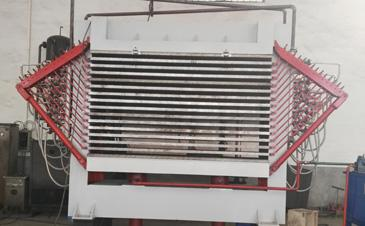 Four Units of 15 Layers Veneer Hot Press Dryer Machines Shipped To Port Klang Malaysia