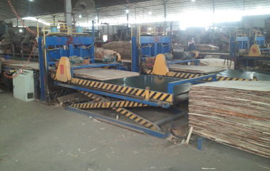 Plywood Veneer Paving Line Plywood Assembly Forming Machine