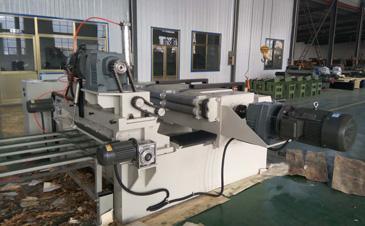 High Speed Strong Veneer Peeling Machine with Clipper Inbuilt