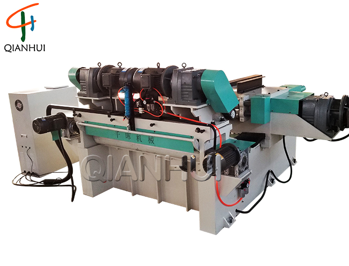 BX1400A-8 Strong Fast Spindleless Veneer Peeling Machine With Servo For Plywood Core Veneer