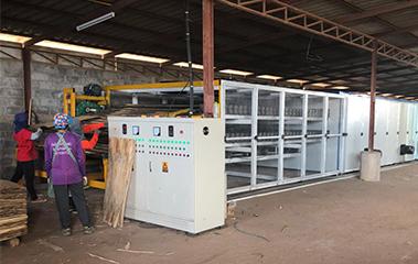 Plywood Veneer Roller Dryer Mesh Veneer Dryer