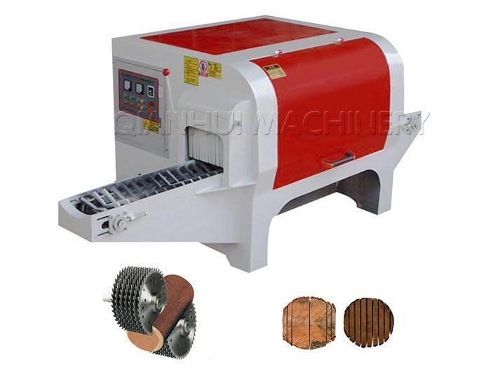 Multi Blade Rip Saw Machine for 40cm Dia Round Wood Logs