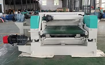 4ft Spindleless Veneer Peeling Machine Rotary Peeling Lathe Shipped  to Indonesia