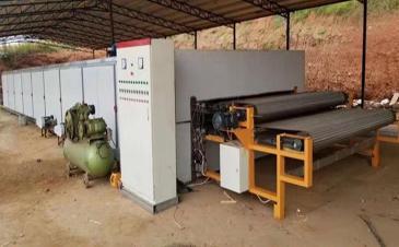Installation Of Roller Veneer Dryer Machine Is Done In Malaysia